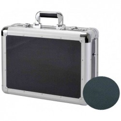 "ALUMAXX Attaché-case ""CARBON"" Aluminium Rembourrage Laptop 45x15x33 cm"