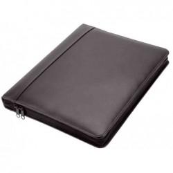 """ALASSIO porte document en anneaux """"MONZA"""", A4, noir"""