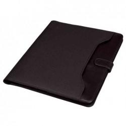 ALASSIO Serviette écritoire FANO A4 Simili cuir et Nylon  Noir