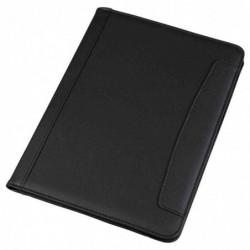 ALASSIO Serviette Porte-Blocs MESSINA format A4 simili cuir Noir