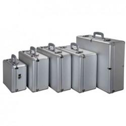 "ALUMAXX Valise à fonctions multiples ""STRATOS II"", argent en aluminium,"