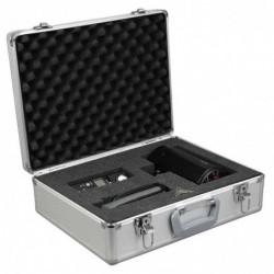ALUMAXX Valise Multifonction Aluminium STRATOS V 52x18x47 cm Argent