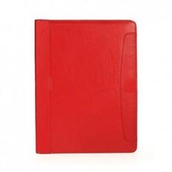 ALASSIO Porte-documents VALLO A4 cuir nappa Rouge