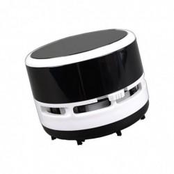ALASSIO Aspirateur de table, plastique, noir-blanc