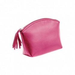 ALASSIO Trousse à cosmétique, cuir, rose vif,