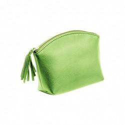 ALASSIO Trousse à cosmétique, cuir, vert,