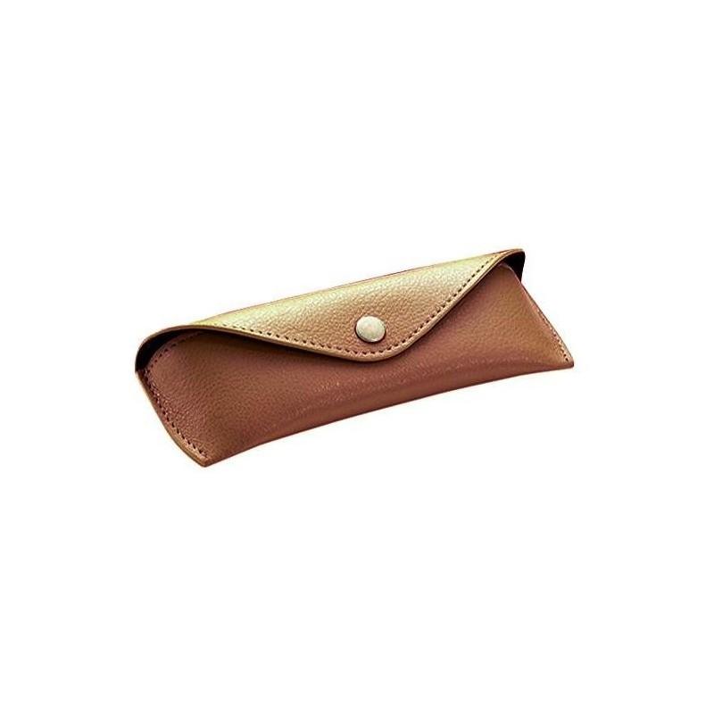 d1a3c980d1 ALASSIO Etui à lunettes, petit, couleur: marron - Stock bureau