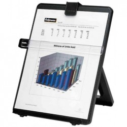 FELLOWES Porte-copies documents A4 plastique avec guide Noir