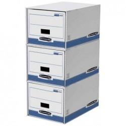 FELLOWES set de 5 tiroirs de rangement R-Kive PRIMA, blanc/bleu