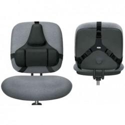 FELLOWES Repose dos Professionnel Series réglable ergonomique Noir