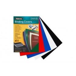 FELLOWES Couverture cartonnée Chromolux, brillante, A4, rouge, paquet de 100