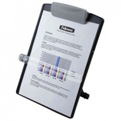 FELLOWES Porte-copies Standard, graphite, en plastique, jusqu'à 150 feuilles