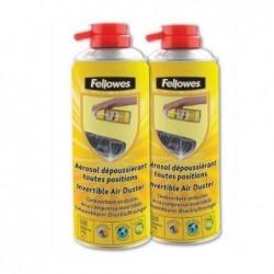 FELLOWES Pack de 2 Aérosol dépoussiérant (2 x 200 ml)