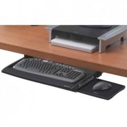FELLOWES Tiroir pour clavier avec tablette souris Office Graphite