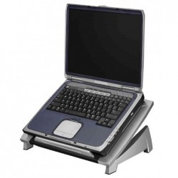 """FELLOWES Support pour ordinateur portable 15"""" Office Suites Réglable Gris Argent"""