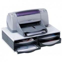 FELLOWES Support de machines de bureau 4 tiroirs 54 x 37 x H15 cm