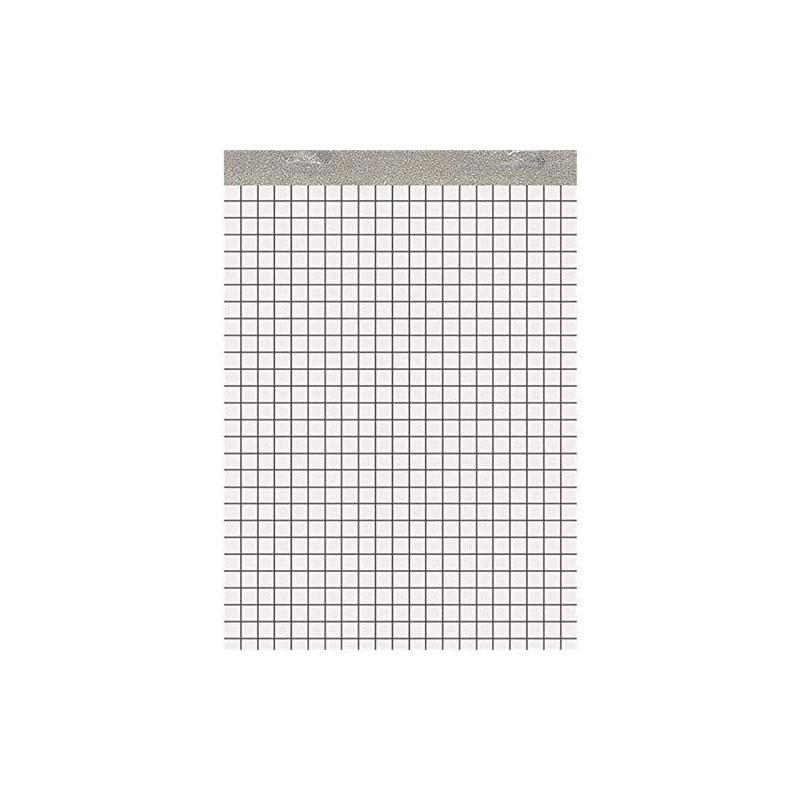 LANDRÉ Bloc notes RECYCLE 50 feuilles A4 60g quadrillé 5x5 mm
