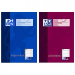 OXFORD Cahier d'activités, DIN A6, 48 feuilles, couleurs Aléatoire