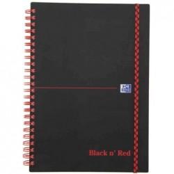 OXFORD cahier Black n' Red,...
