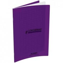 CONQUÉRANT SEPT CONQUERANT CLASSIQUE Cahier 210 x 297 mm, séyès, violet