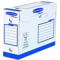 FELLOWES Lot de 20 BANKERS BOX Basic Boîte d'archives Heavy Duty A4+ Dos de 10 cm