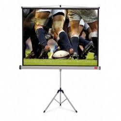 NOBO Ecran de Projection sur Trépied Home Cinéma 16:10 Format (2000 x 1310 mm)