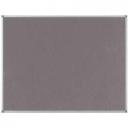 NOBO Tableau d'affichage Classic en feutre 900x600mm gris