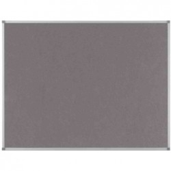 NOBO Tableau d'affichage Classic en feutre 1200x900mm gris