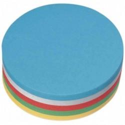 NOBO Lot de 250 Moderation cartes rondes diamètre 95mm