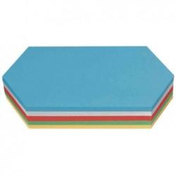 NOBO Lot de 250 Moderation cartes hexagonales 205x95 cm