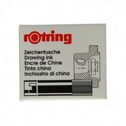 ROTRING Boite de 5 cartouches d'encre pour Rotring Isographe
