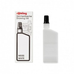 ROTRING Flacon 23 ml Encre de chine pour isograph/Variant Blanc