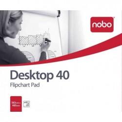 NOBO Blocs Papier pour Paperboard 20 pages de papier uni 965L x 671H mm