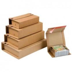 COLOMPAC Lot de 20 Emballage d'expedition universel, pour jusqu'à 5 CD