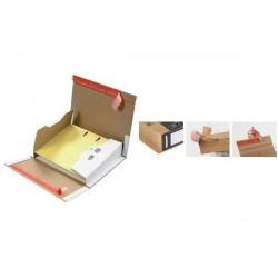 COLOMPAC 20 x Carton d'expédition pour classeur, blanc, pour classeur A4