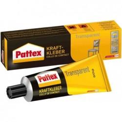 PATTEX Tube de colle Contact Transparente avec solvant