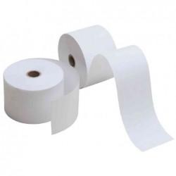 KORES 5 x rouleaux caisse, 60mm x 44m x 12mm, sans bois, blanc