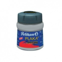 PELIKAN Flacon verre 50 ml peinture base Eau PLAKA Gris N° 72