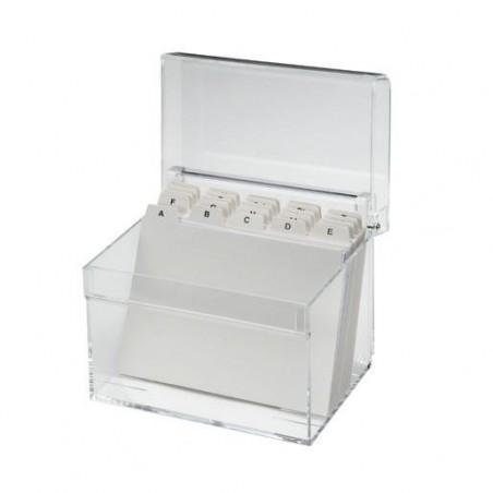 MAUL Boîte à fiches Acrylique A6  Transparent
