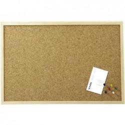 MAUL Tableau liège cadre bois 40 x 60 cm Bois