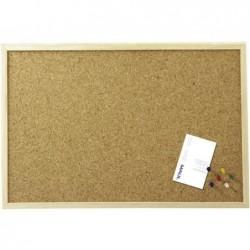 MAUL Tableau liège cadre bois 60 x 100 cm Bois