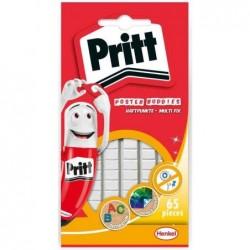 PRITT Pochette de pastilles Adhésives Multifix On / Off Blanc