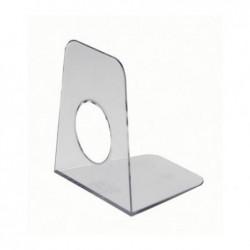 MAUL Serre-livres en plastique 9 x 10,5 x 12 cm Transparent par 1