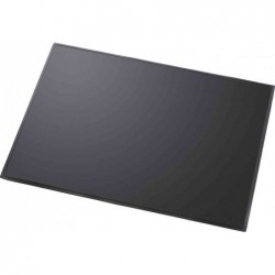 HELIT Sous-mains PVC souple 630 x 500 mm Anti reflet Noir