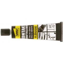 UHU colle forte de contact, fluide, contient du solvant,120g