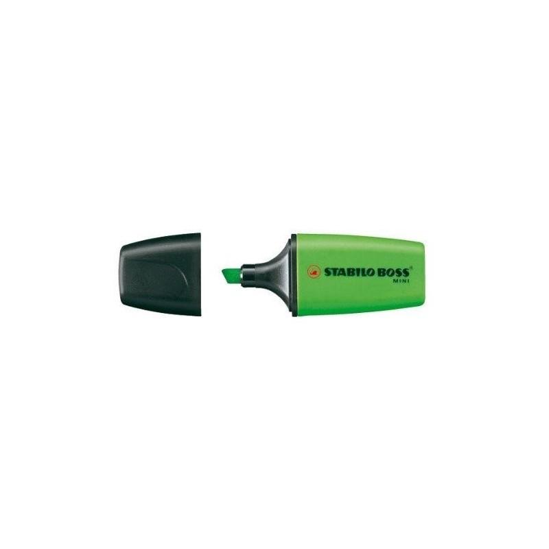 STABILO Surligneur BOSS MINI Pte Biseautée 2 - 5 mm Vert