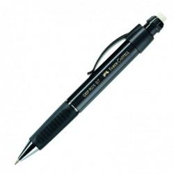 FABER-CASTELL porte-mine GRIP PLUS 1307, noir métallique, 0,7mm