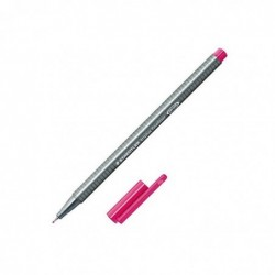 STAEDTLER Stylo feutre fineliner TRIPLUS Pointe fine 0,3mm Magenta