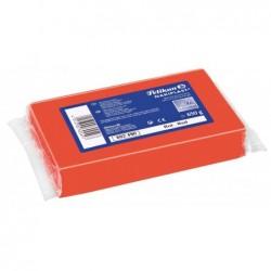 PELIKAN bloc de 650g de pâte à modeler Nakiplast 681, rouge