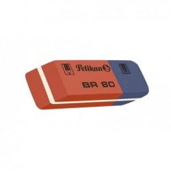 PELIKAN Gomme caoutchouc BR 80 encre et crayon (L)4(P)14 x (H)8 mm